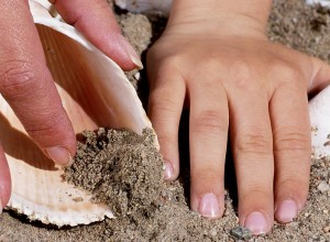 Hands in Sand 1